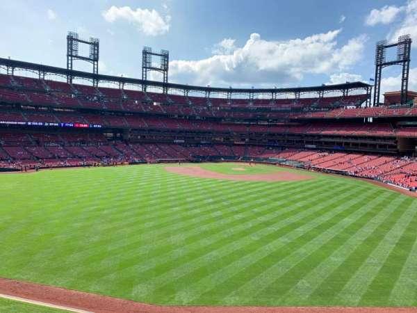 Busch Stadium, section: MVP1, row: A, seat: 3