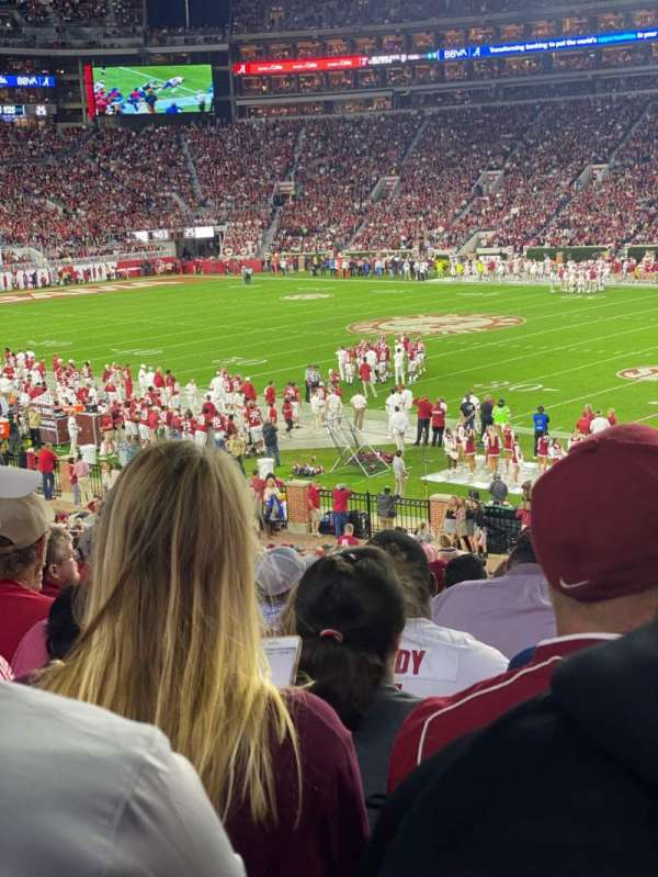 Bryant-Denny Stadium, section: C, row: 37, seat: 7