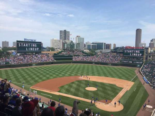 Wrigley Field, section: 314L, row: 8, seat: 4