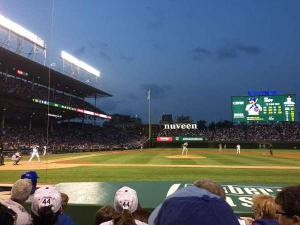 Wrigley Field, section: 22, row: 8, seat: 13