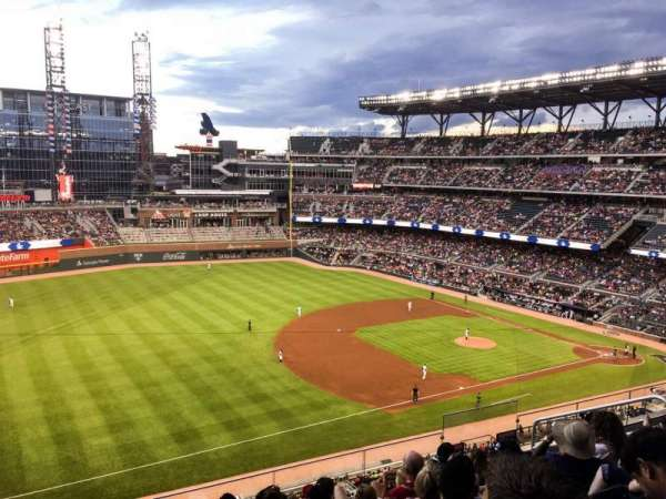 SunTrust Park, section: 339, row: 7, seat: 10