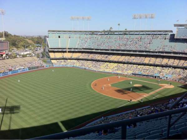 Dodger Stadium, section: 45rs, row: Bb, seat: 7