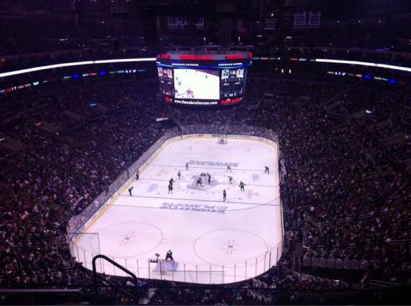 Staples Center, section: 308, row: 7, seat: 23
