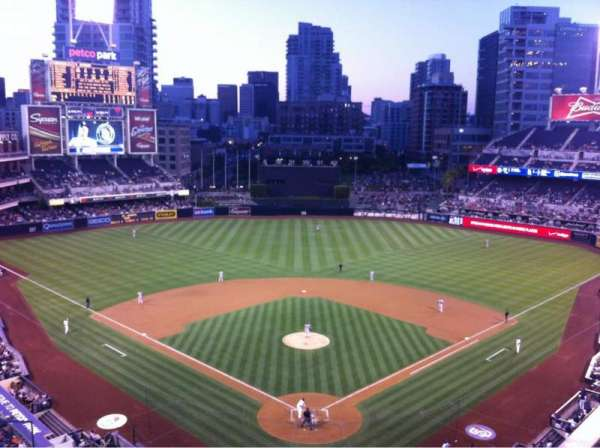 Petco Park, section: 300, row: 6, seat: 10