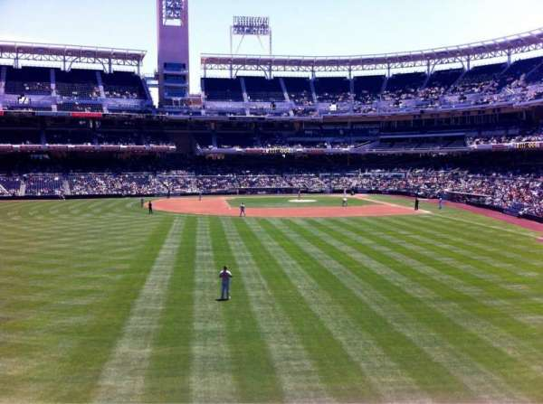 Petco Park, section: 226, row: 1, seat: 19