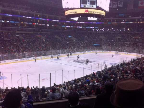 Staples Center, section: PR9, row: 4, seat: 5