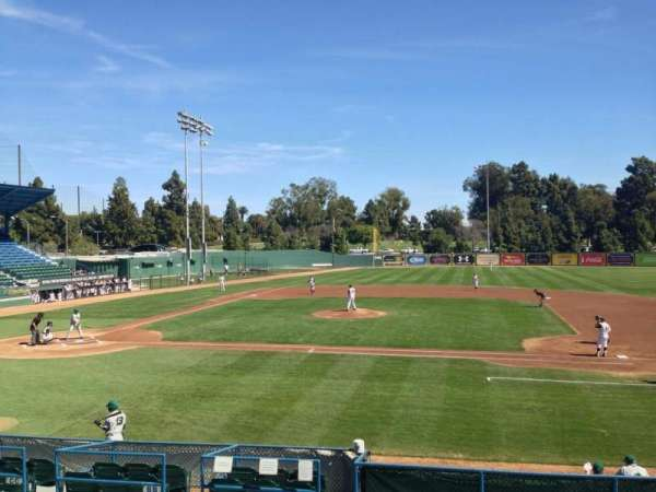 Blair Field, section: 110, row: L, seat: 10