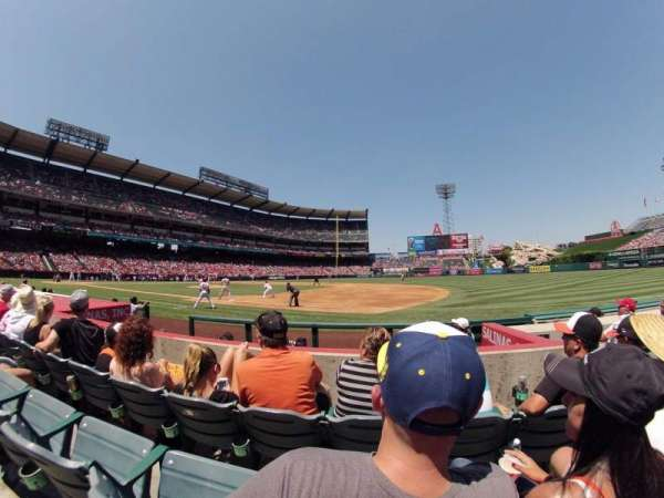 Angel Stadium, section: F126, row: E, seat: 15