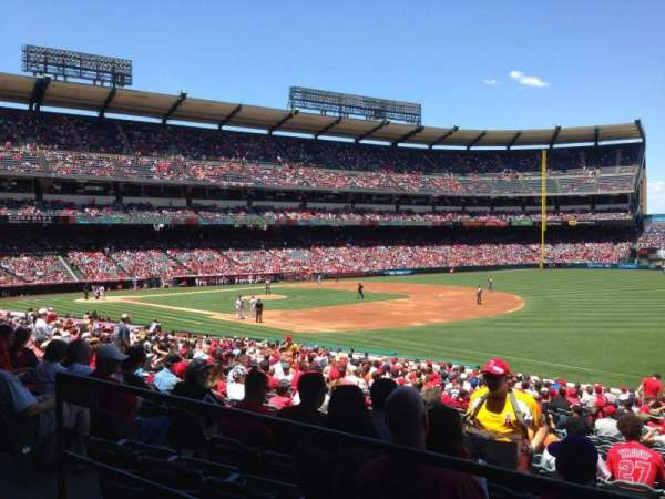 Angel Stadium, section: T227, row: A, seat: 1