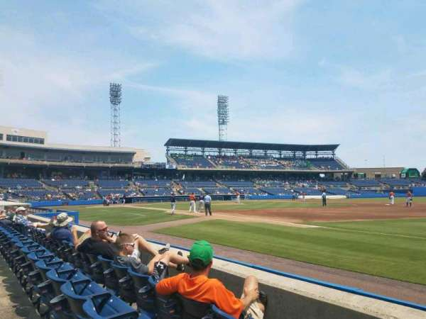 Harbor Park, section: 118, row: C, seat: 1