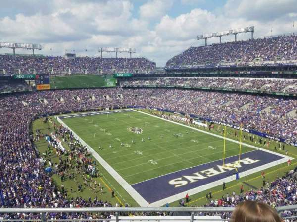 M&T Bank Stadium, section: 517, row: 3, seat: 8