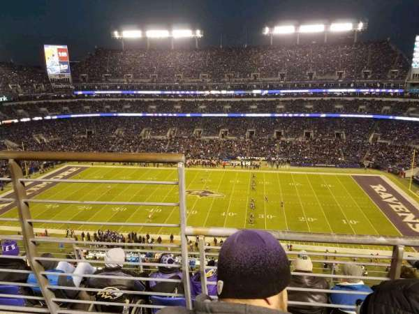 M&T Bank Stadium, section: 525, row: 5, seat: 14