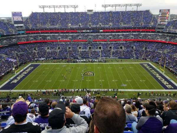 M&T Bank Stadium, section: 553, row: 21, seat: 20
