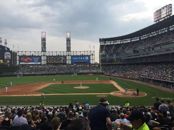 Guaranteed Rate Field, section: 137, row: 29, seat: 9