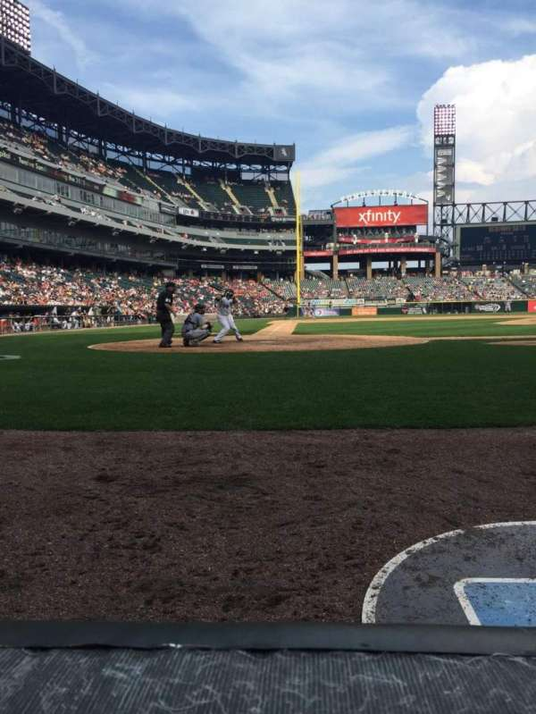 Guaranteed Rate Field, section: 128, row: 1, seat: 6