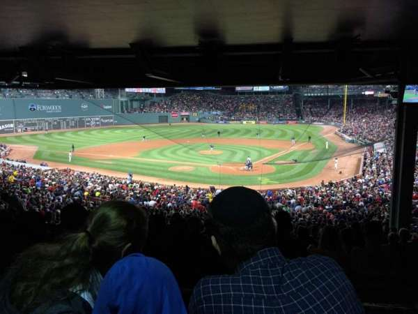 Fenway Park, section: Grandstand 22, row: 18, seat: 16