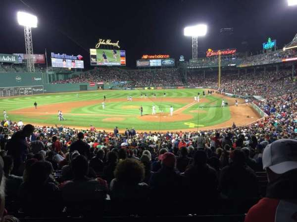 Fenway Park, section: Grandstand 23, row: 7, seat: 3