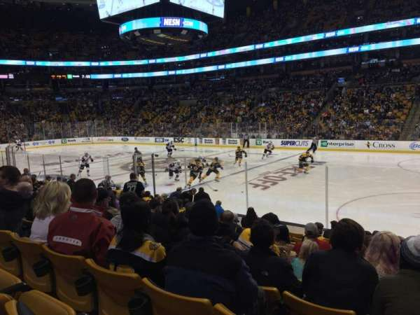 TD Garden, section: Loge 20, row: 12, seat: 12