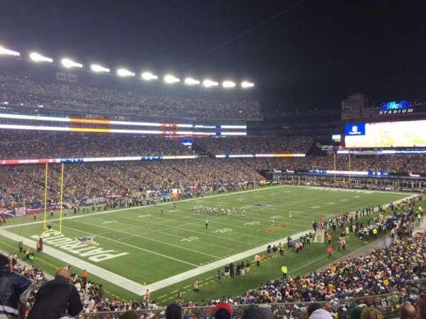 Gillette Stadium, section: 238, row: 6, seat: 7