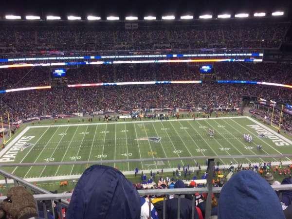 Gillette Stadium, section: 332, row: 9, seat: 20