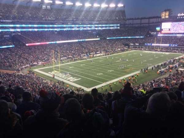 Gillette Stadium, section: 238, row: 26, seat: 20
