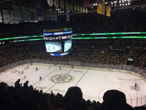 TD Garden, section: Bal 329, row: 10, seat: 5