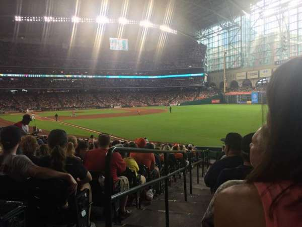 Minute Maid Park, section: 134, row: 25, seat: 1