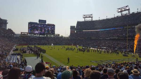 Nissan Stadium, section: 104, row: AA, seat: 9