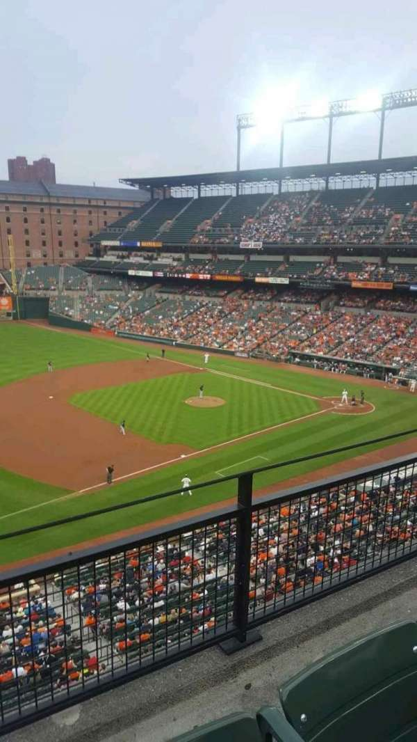 Oriole Park at Camden Yards, section: 360, row: 2, seat: 21
