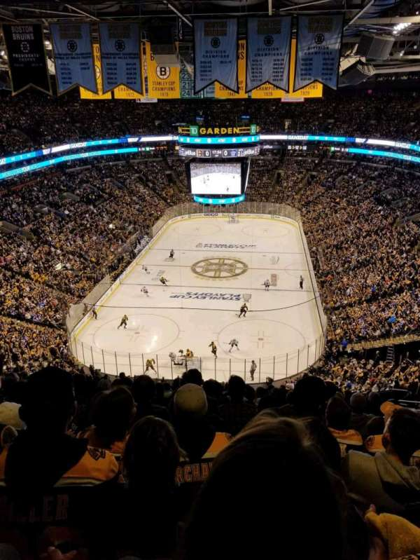 TD Garden, section: BAL 323, row: 15, seat: 20