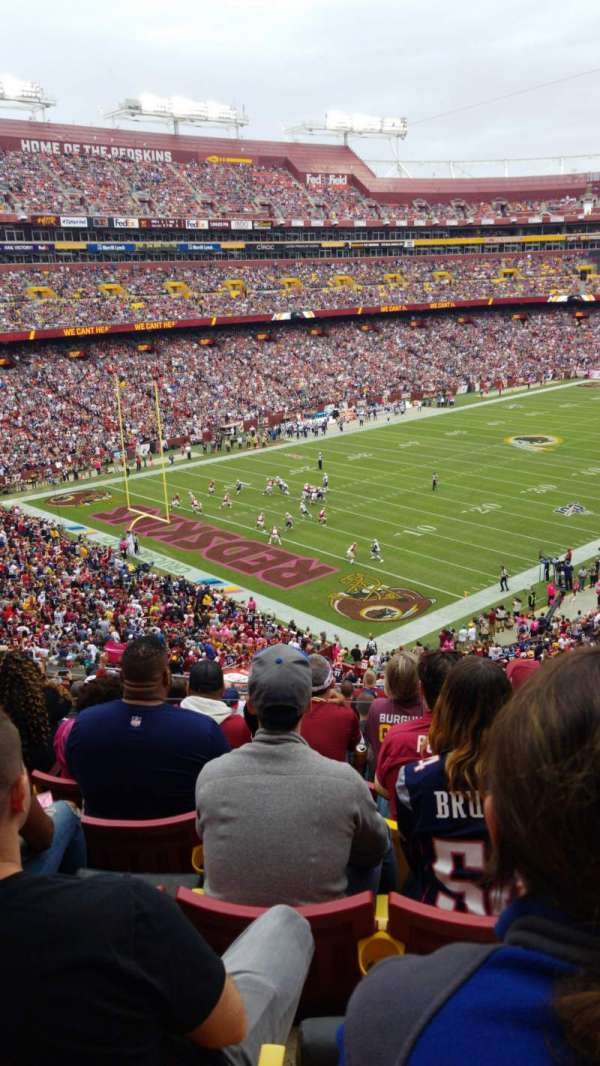 FedEx Field, section: 307, row: 15, seat: 15