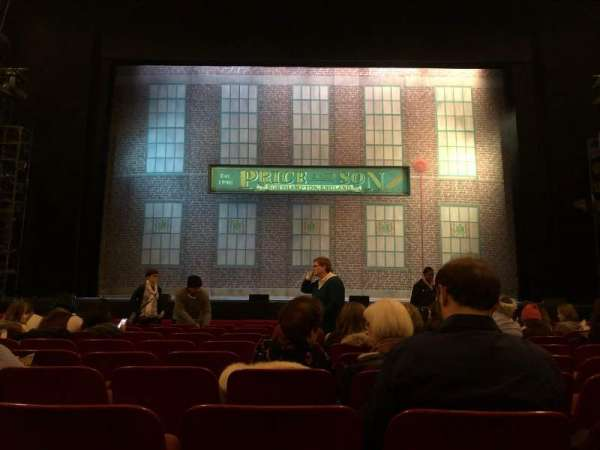 Cadillac Palace Theater, section: Orchestra C, row: J, seat: 109