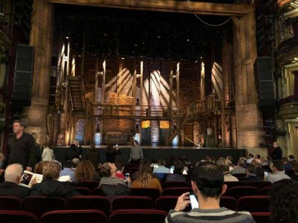 CIBC Theatre, section: Orchestra C, row: P, seat: 104