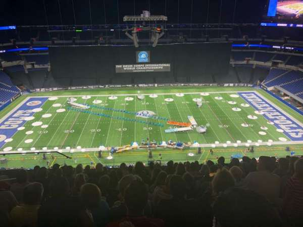 Lucas Oil Stadium, section: 640, row: 12, seat: 18