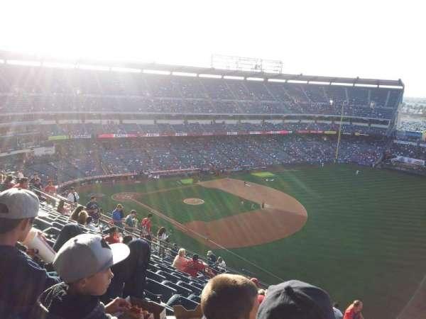 Angel Stadium, section: V532, row: K, seat: 25