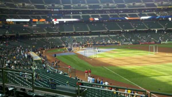American Family Field, section: 210, row: 3, seat: 5