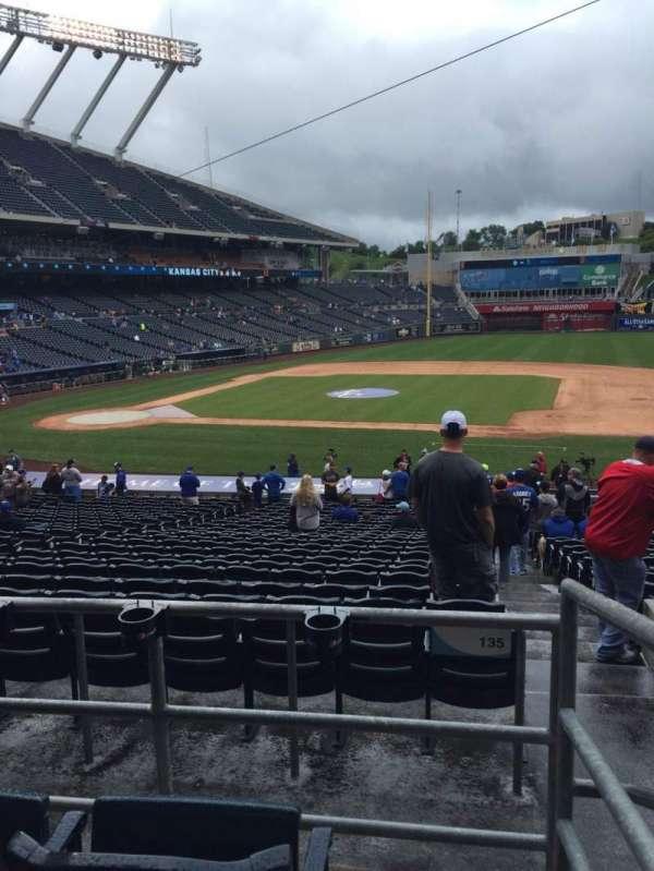 Kauffman Stadium, section: 234, row: Cc, seat: 23
