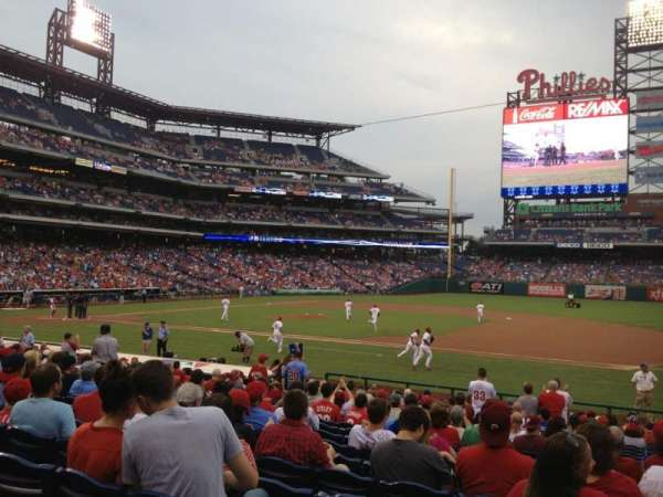 Citizens Bank Park, section: 115, row: 21, seat: 1