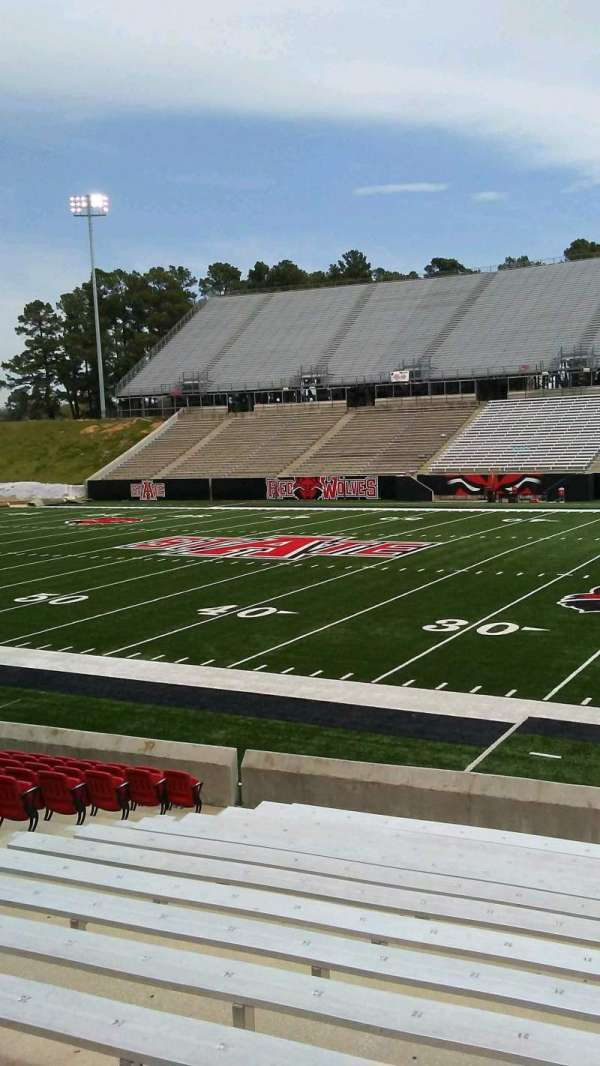 Centennial Bank Stadium, section: C, row: 15, seat: 19
