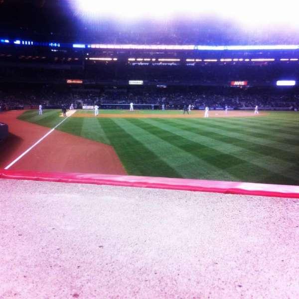 Yankee Stadium, section: 107, row: 10, seat: 6