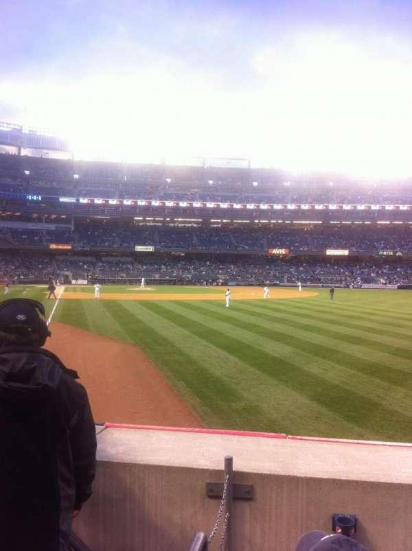 Yankee Stadium, section: 107, row: 13, seat: 10