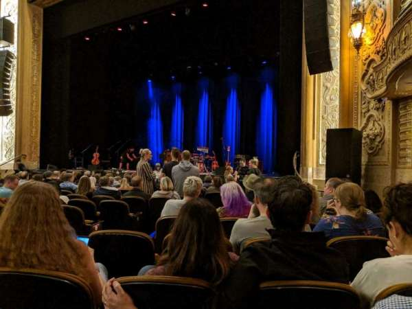 Paramount Theatre (Seattle), section: Main Floor 1, row: M, seat: 5