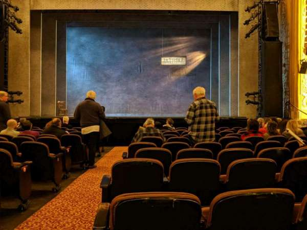 Paramount Theatre (Seattle), section: Main Floor 2, row: L, seat: 1