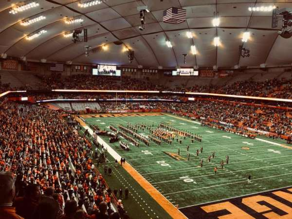Carrier Dome, section: 331, row: K, seat: 11