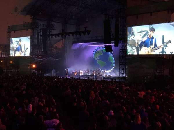 Huntington Bank Pavilion at Northerly Island, section: VIPF, row: 5, seat: 3