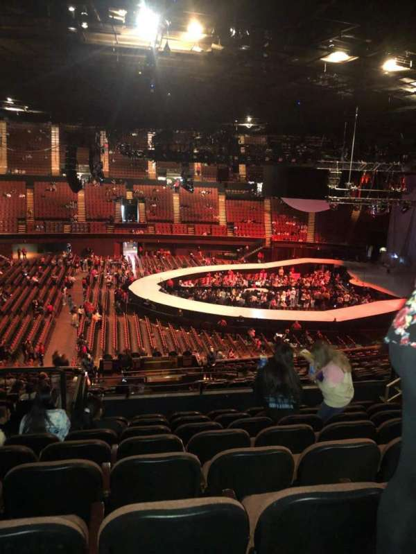 The Forum, section: 209, row: 8, seat: 5