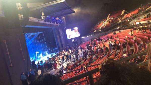 The Greek Theatre, section: North Terrace R1, row: BB, seat: 2