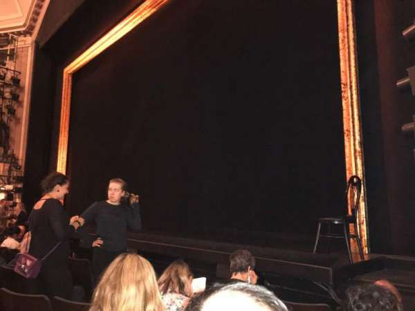Ambassador Theatre, section: Orch R, row: D, seat: 16