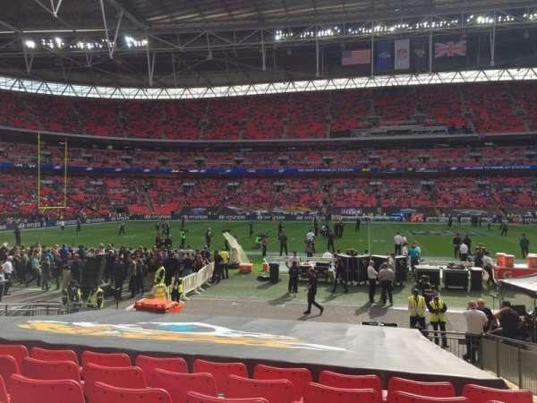 Wembley Stadium, section: 101, row: 17, seat: 53