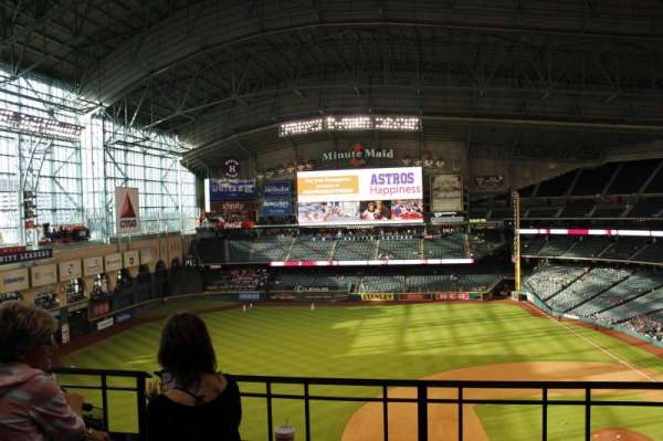 Minute Maid Park, section: 409, row: 2, seat: 14
